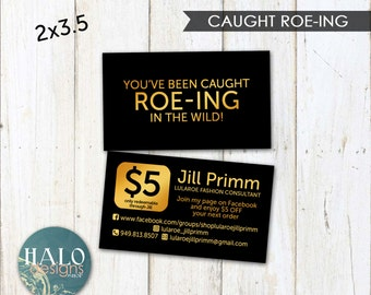 Fashion consultant,LLR,Business cards,LLR Caught in the Wild cards - Black