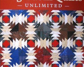 Log Cabin Quilts Unlimited Book, by Patricia Cox and Maggi McCormick Gordon,  Quilt Patterns