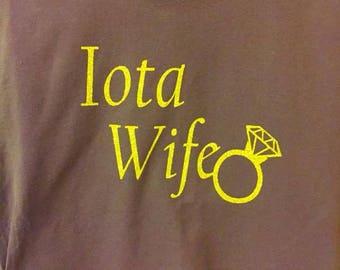 Iota Wife Shirt