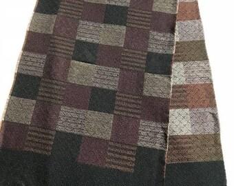 Vintage Made in Germany Merino wool scarf