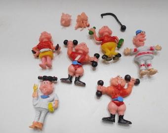 Vintage Little Figures (12) Interchangeable Limbs & Heads