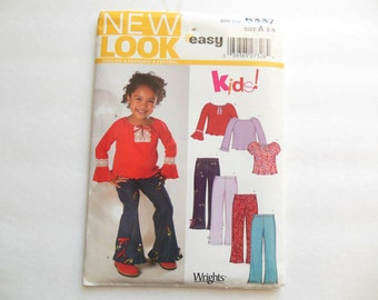 New Look Sewing Pattern 6337 Girls Pants and Shirts