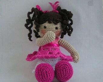 Doll Susi Amigurumi crochet pattern