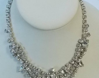 Gale.  Rhinestone Necklace.  (544)