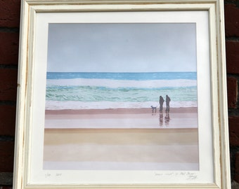 Beech walk - Framed limited edition Glicee print.