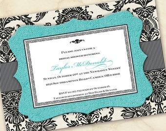 Wedding invitations moroccan invitations moroccan wedding bridal shower invitations turquoise bridal shower invitations wedding invitations turquoise graduation invitations filmwisefo