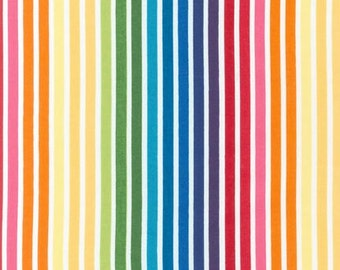 Remix Bright Stripe by Ann Kelle for  Robert Kaufman