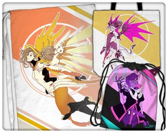 Mercy and Sombra Bags (tote, cinch, sling, laundry)