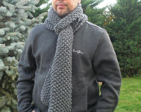 Diy Gift Scarf Knitting Pattern Pdf For Beginners