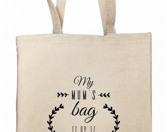 Tote bag for a MOM or MOM