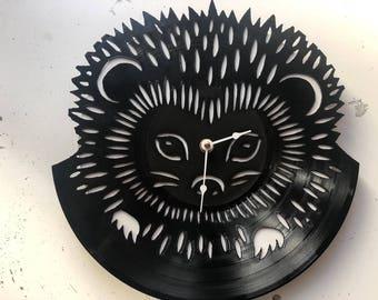 Hedgehog Clock Etsy