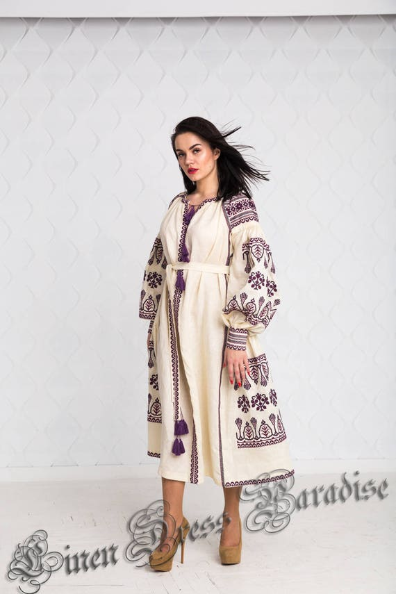 Style Modern Ivory Abaya Dress 20 IL Dress Easter Luxury Caftan SALE SIZE Kaftan US12 Beige ship Folk Embroidered Ready Embroidered to TnRxYnP
