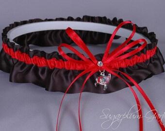 Tampa Bay Buccaneers Wedding Garter - Ready to Ship