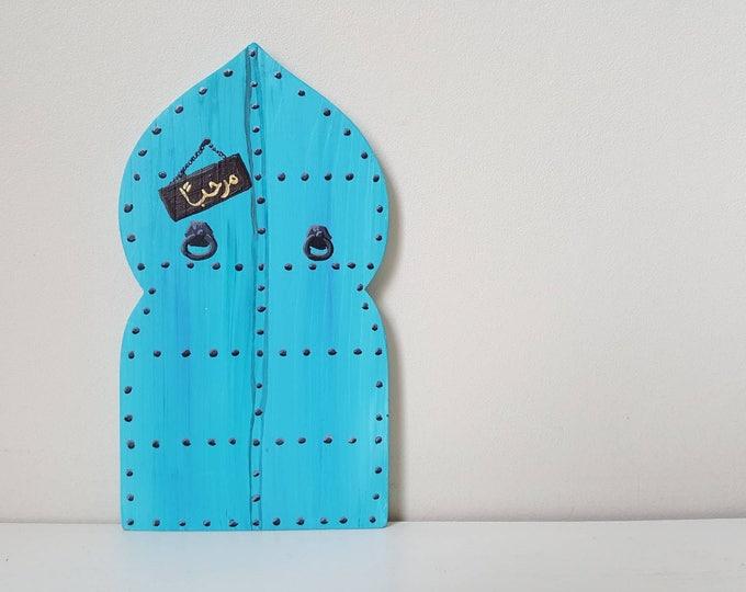 Personalised Arabic Moroccan Genie Door - Eid Gift - Muslim Islam Arabian Middle Eastern Alladin Aladin Arabian Nights 1001 Nights