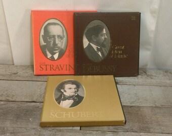 Vintage Time Life Great Men of Music Record LP Set