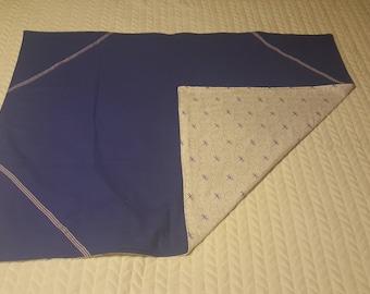 Purple Dragonflies Baby Blanket