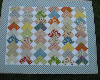 Checkerboard Patchwork Quilt