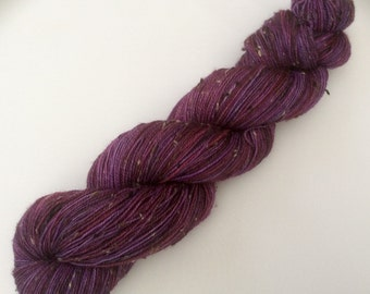 Got Any Grapes? - hand dyed yarn 3.5 oz 437 yds