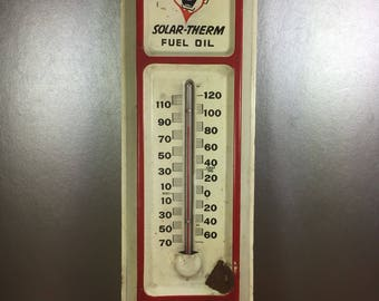 Solar-Therm Fuel Oil Metal Thermometer