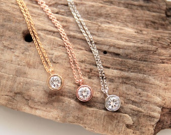 Chain | Crystal | Rose Gold