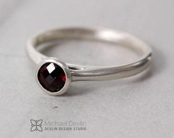 Anthill Garnet Ring
