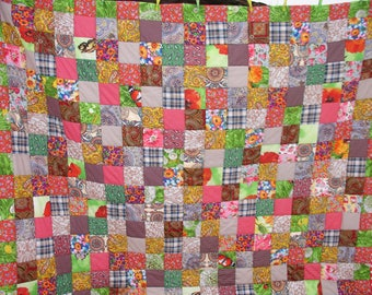 King size quilts,King quilt,Homemade quilts,Homemade quilts queen,Handmade Vintage Quilt Patchwork Hand made,Queen size quilts