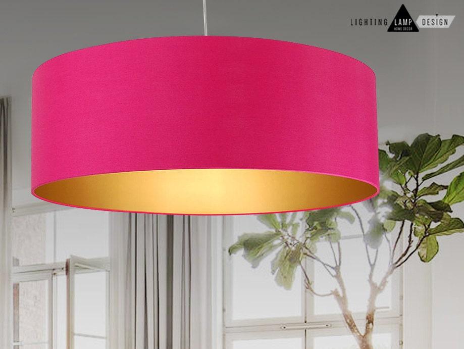 Brand new Pendant Lamp 3 lights - Elegant lamp shades - Drum ceiling  VI84