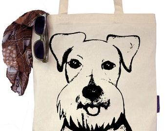 Baby the Schnauzer - Eco-Friendly Tote Bag