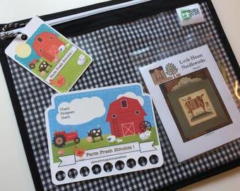 Farm Fresh Stitchin' Thread Keep and Bag Tag