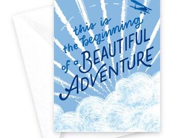 Beautiful Adventure • single card