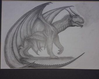Dragon in Graphite