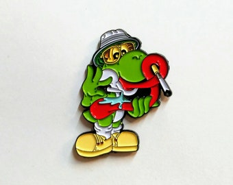 Yoshi Hunter S Thompson Acid Hat Pin