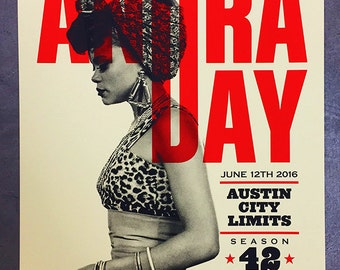 Andra Day Austin City Limits ACL poster