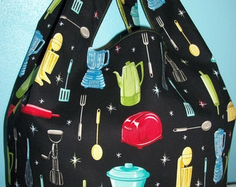 Retro Kitchen Market Bag