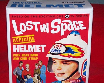 Remco 1966 LOST in SPACE reproduction HELMET box