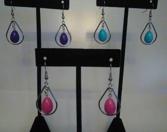 Egg Hoop earrings