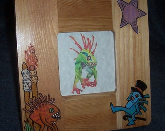 World of Warcraft Photo Frame - Murlocs - WoW - Hearthstone - Picture Frame - Home Decor