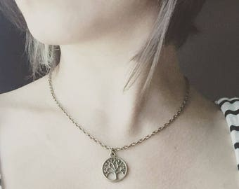 Tree of Life Necklace / Bronze Tree Pendant Charm Necklace Gift for Her for Women Tree Lover Gift Boho Tree Jewelry Bridesmaids Gifts