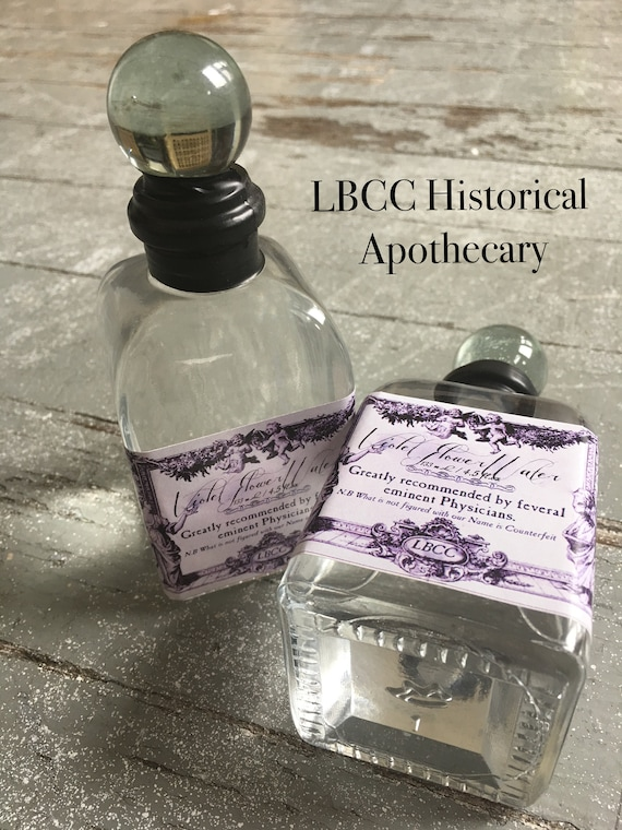 Victorian Makeup Guide & Beauty History Violet Water 1893-1927 Edwardian Violet Perfume Downton Abbey Scent Gift Victorian Scented Water Violet Room Spray Historical Bottle Vintage $15.00 AT vintagedancer.com