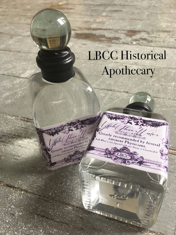 Edwardian Gloves, Handbag, Hair Combs, Wigs Violet Water 1893-1927 Edwardian Violet Perfume Downton Abbey Scent Gift Victorian Scented Water Violet Room Spray Historical Bottle Vintage $15.00 AT vintagedancer.com