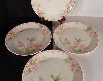 Royal Doulton Regents Park Fresh Flowers Salad Plate (s) LOT OF 4