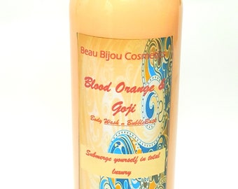 Blood Orange and Goji Body Wash and Bubble Bath