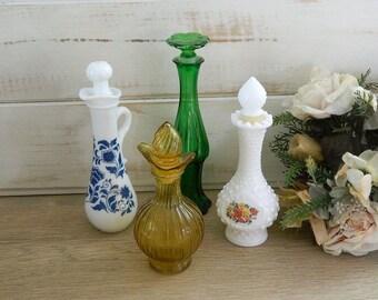 Avon Perfume Bottle - Vintage Glass - Collectible Avon Bottles