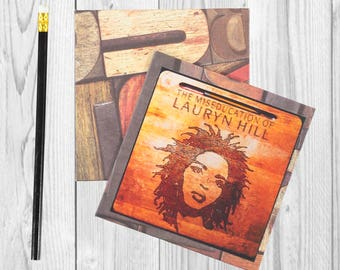 Writing journal, notebook, bullet journal, diary, sketchbook, blank -  Lauryn Hill