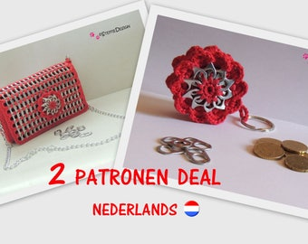 2 Pattern deal - DUTCH CROCHET PATTERN
