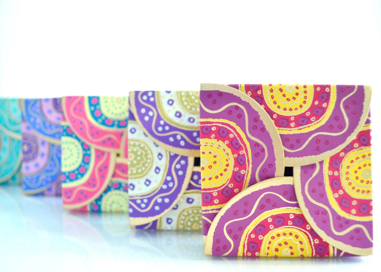Set of 2 Favor Box Set Wedding Favor Box Indian Wedding