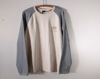 Nautica Jeans heavy weight ribbed long sleeve