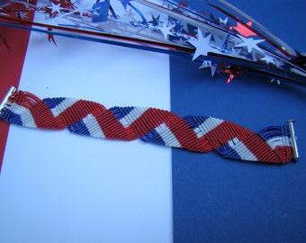 Patriotic Ribbons Bracelet