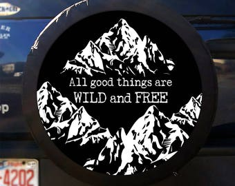 Spare tire cover | Etsy