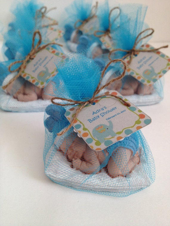 10 Baby Shower Favors/ Guest Favors/ Scented Stones Favors/